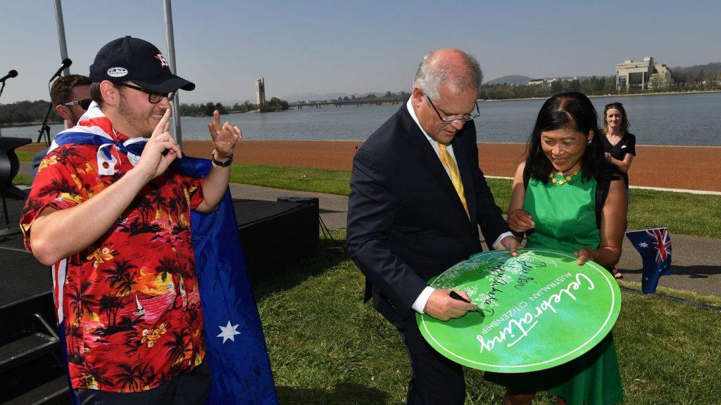 Az ausztrál nemzeti ünnepet beárnyékolták a bozóttüzek