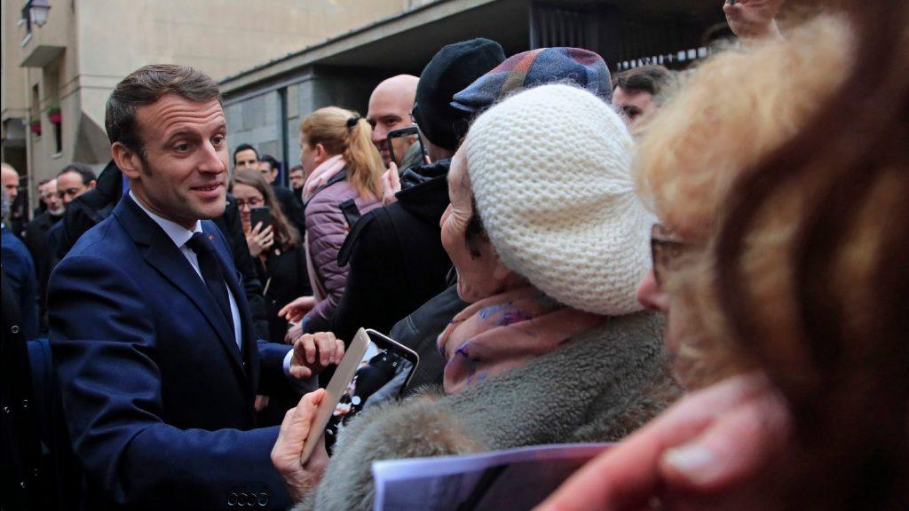 Macron: Semmiben nem engedhetünk az antiszemitizmusnak