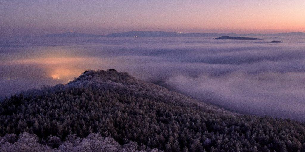 Országszerte sűrű ködre figyelmeztetnek