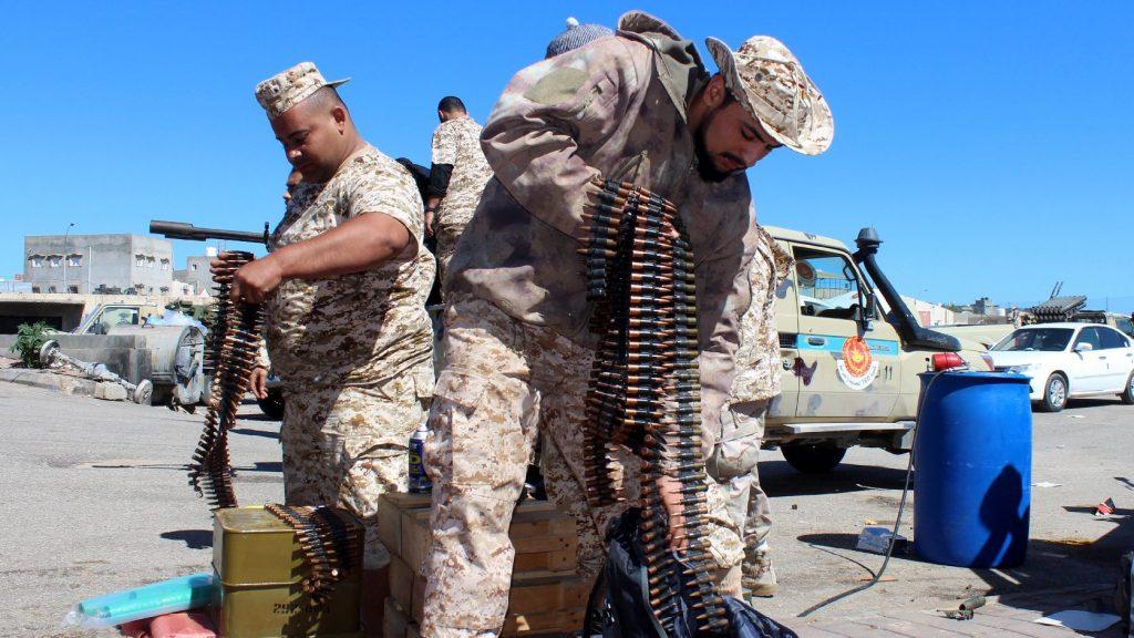 Lelőttek egy harci repülőt Líbiában