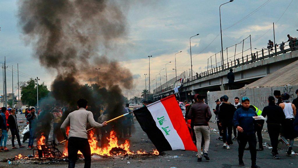 Többen életüket vesztették és megsérültek a bagdadi tüntetéseken