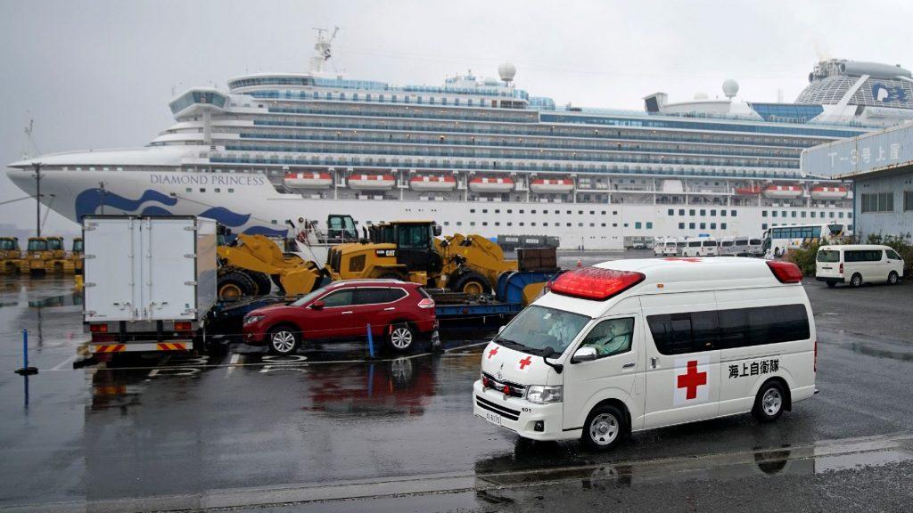 Meghalt a Diamond Princess üdülőhajó két japán utasa