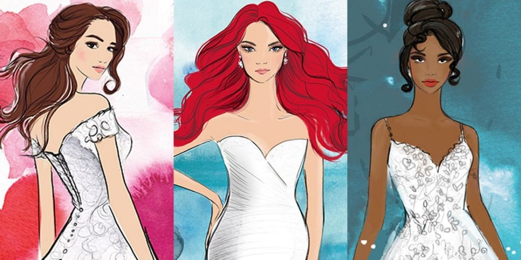 Esküvői ruhákkal rukkol elő a Disney - ezekben minden menyasszony hercegnő lehet
