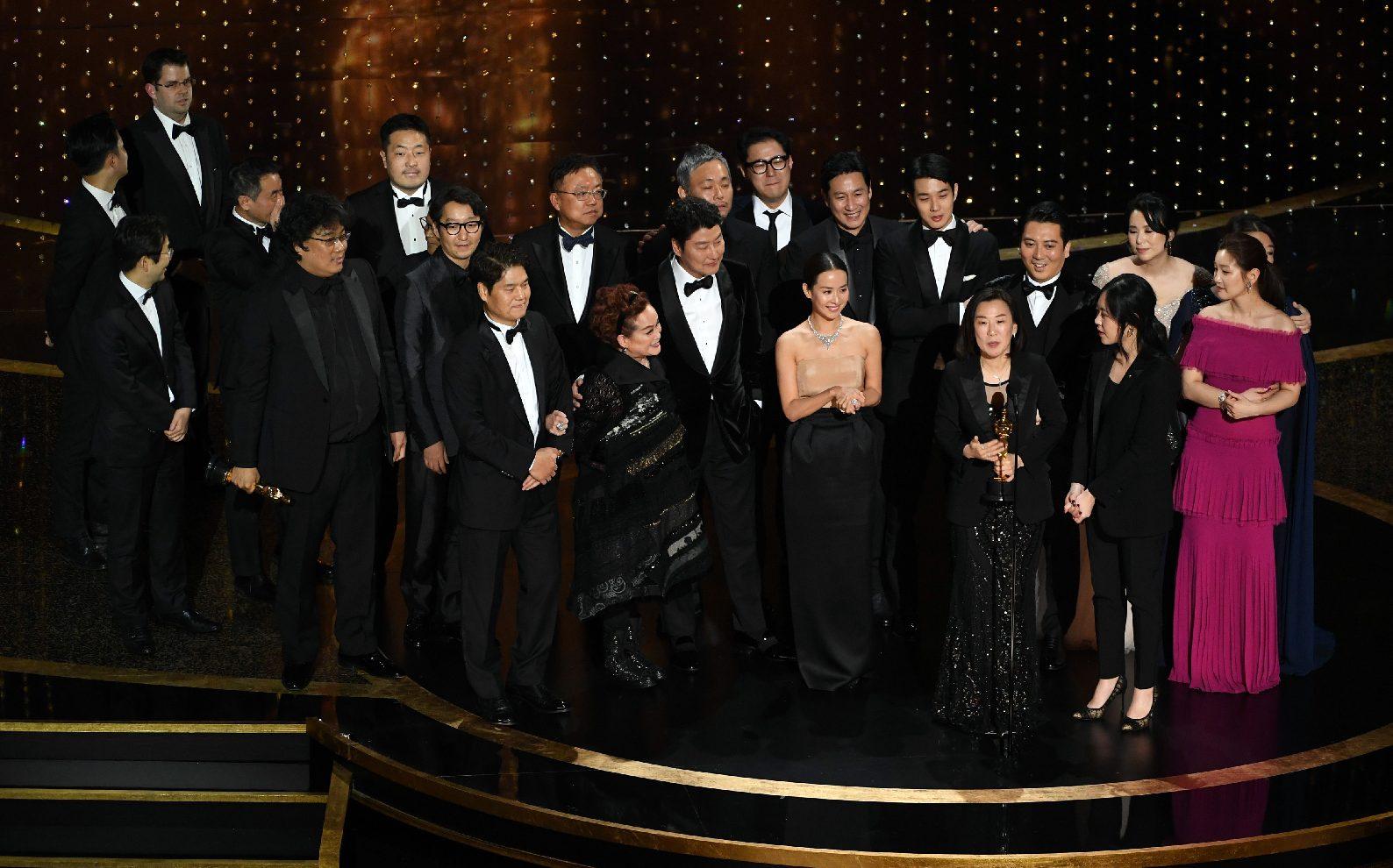 Az Élősködők letarolta az Oscar-gálát