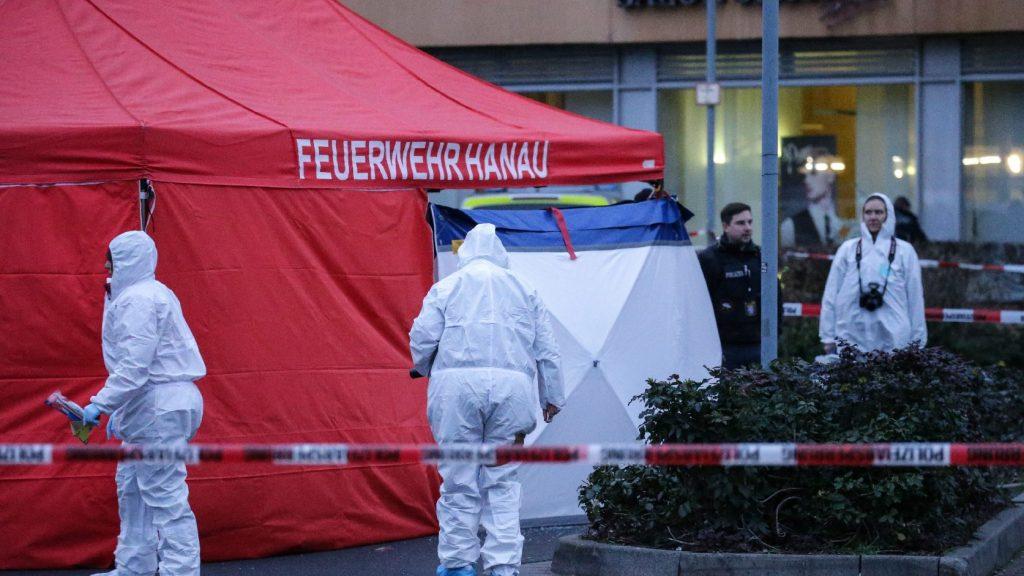 Szélsőjobboldali terrorcselekmény lehetett a Hanauban történt lövöldözés