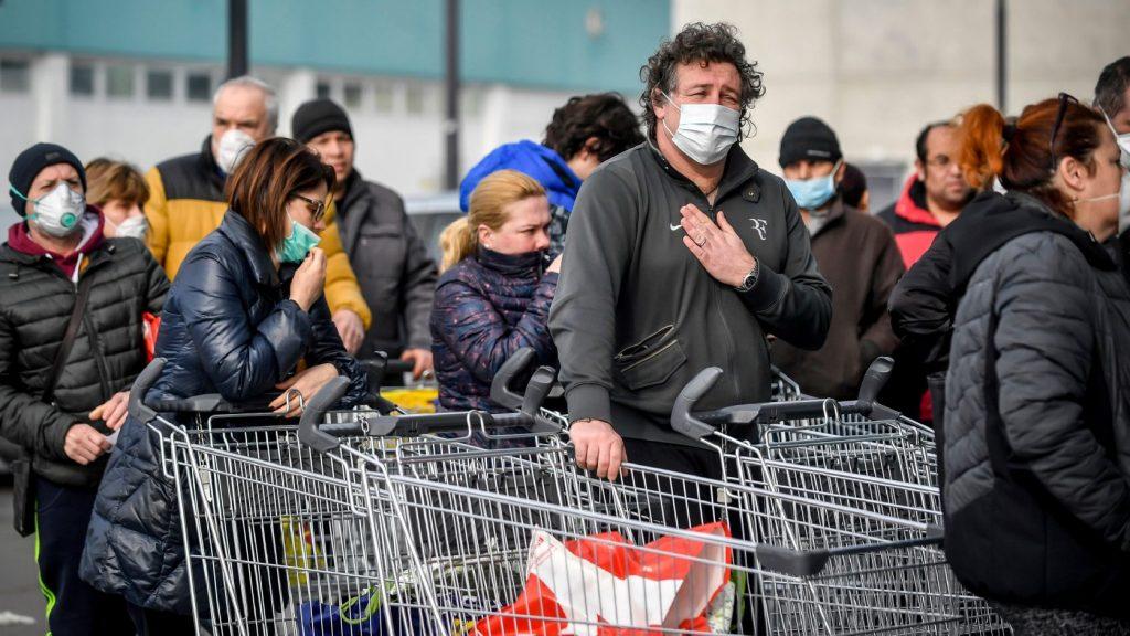 Megbetegedtek az orvosok is Észak-Olaszországban