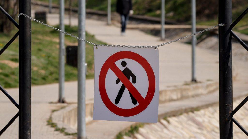 A koszovói alkotmánybíróság megsemmisítette a kijárási tilalomra vonatkozó kormánydöntést