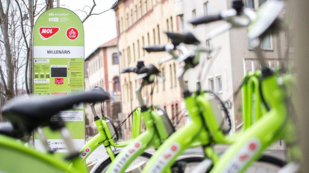 Megkezdődött az új Mol Bubi bringák tesztelése