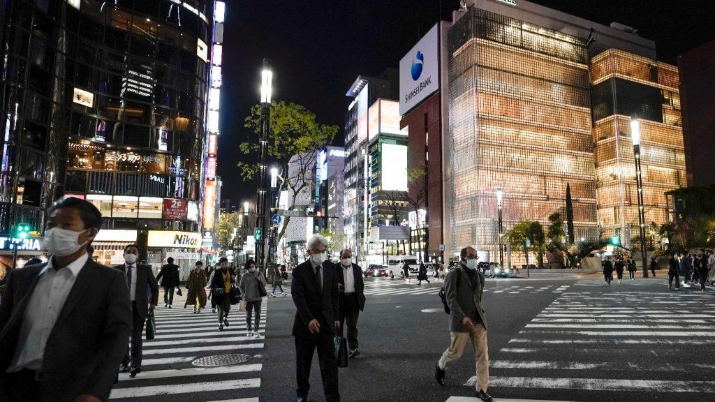 A fertőzöttek számának eddigi legnagyobb napi növekedését regisztrálták Japánban