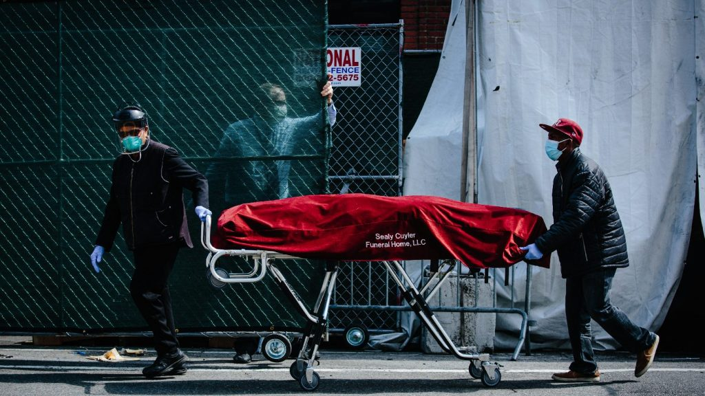 New York államban kedden 779-en haltak meg