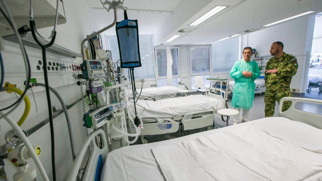 Új kórházparancsnokok álltak szolgálatba
