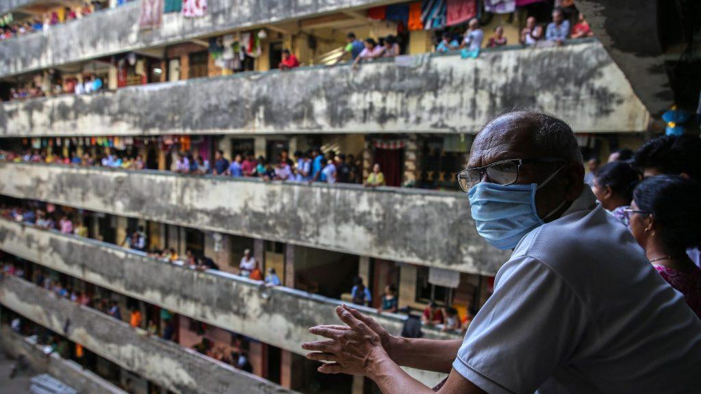 Elzárták a külvilágtól Ázsia egyik legzsúfoltabb nyomornegyedét