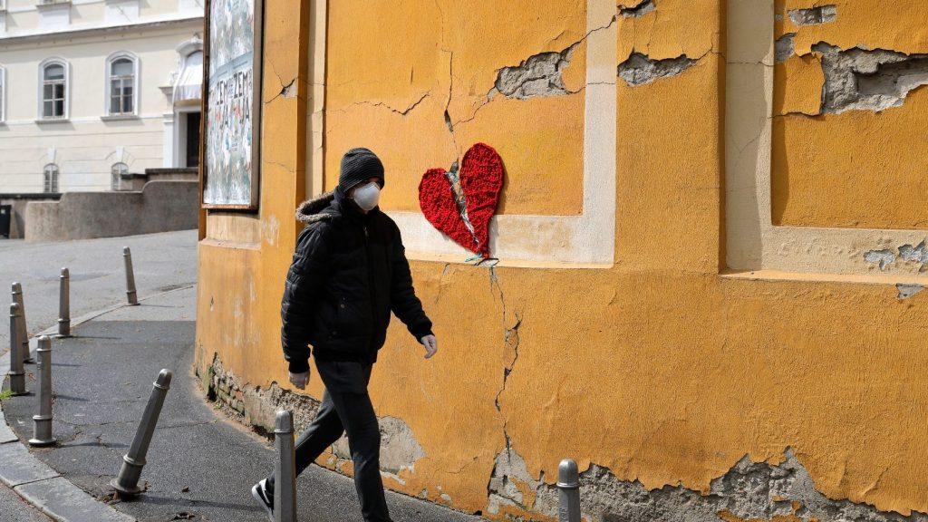 Mérsékelt ütemben nőtt a fertőzöttek száma Szlovéniában és Horvátországban