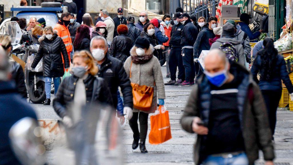 Csökkent a halottak száma Olaszországban
