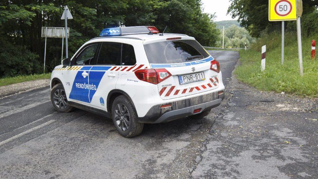 Baleset miatt lezárták az M35-ös autópályát Hajdúböszörménynél