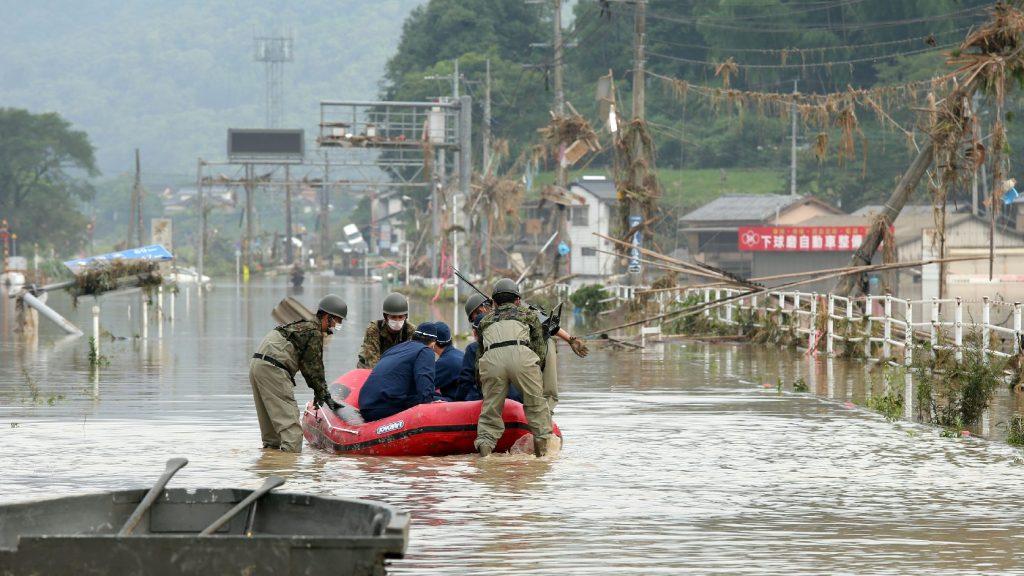Drámai a helyzet Japánban