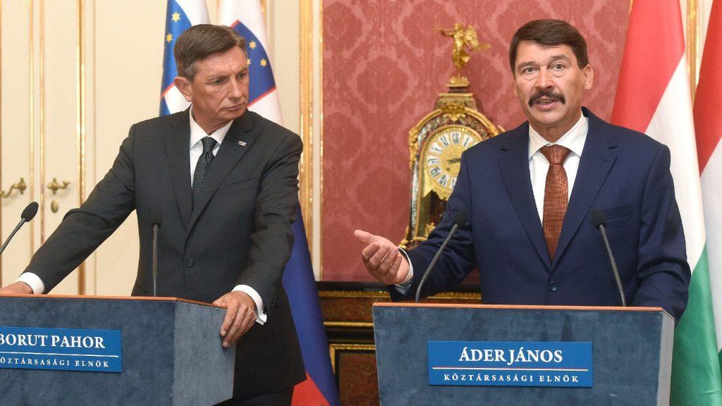 Áder: Magyarország és Szlovénia jól kezelte a járványt