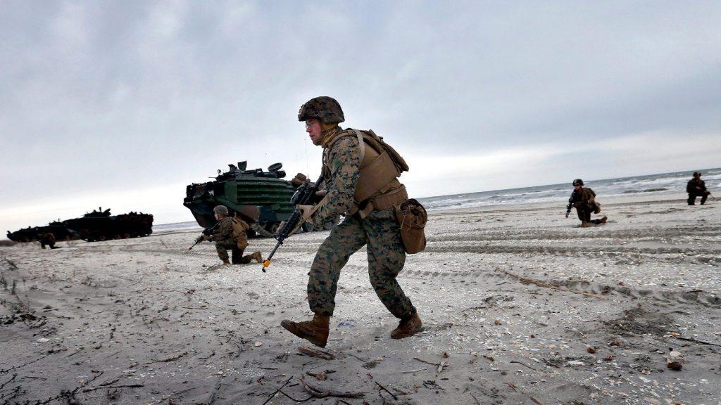 Lövöldözés volt az amerikai tengerészgyalogság egyik támaszpontján Kaliforniában