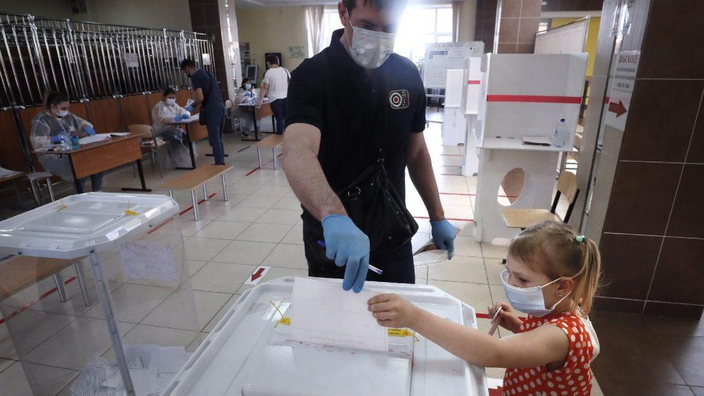 Az alkotmány módosítására voksolt az oroszok többsége