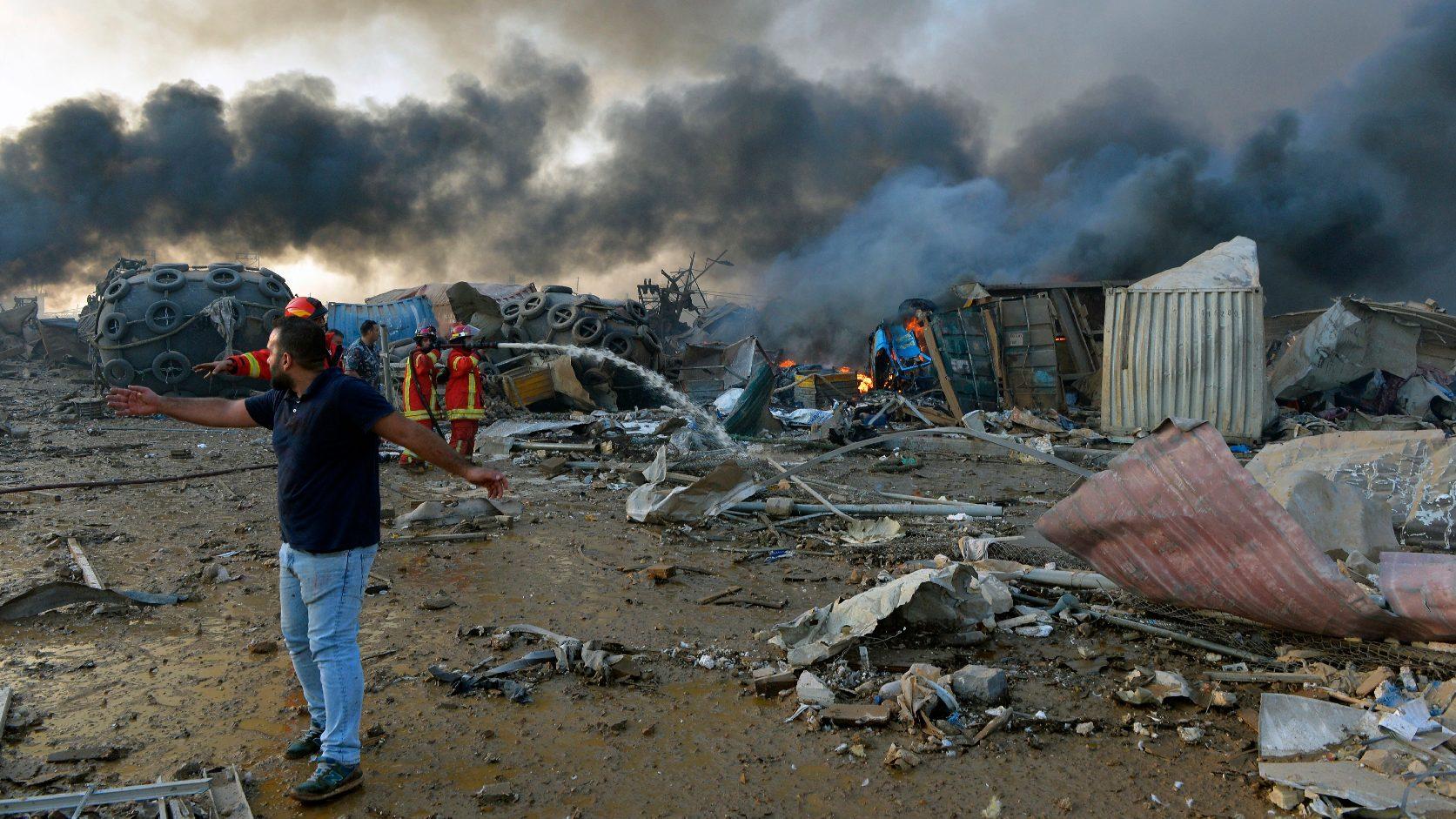 A Hezbollah keze is benne lehet a bejrúti robbanásban