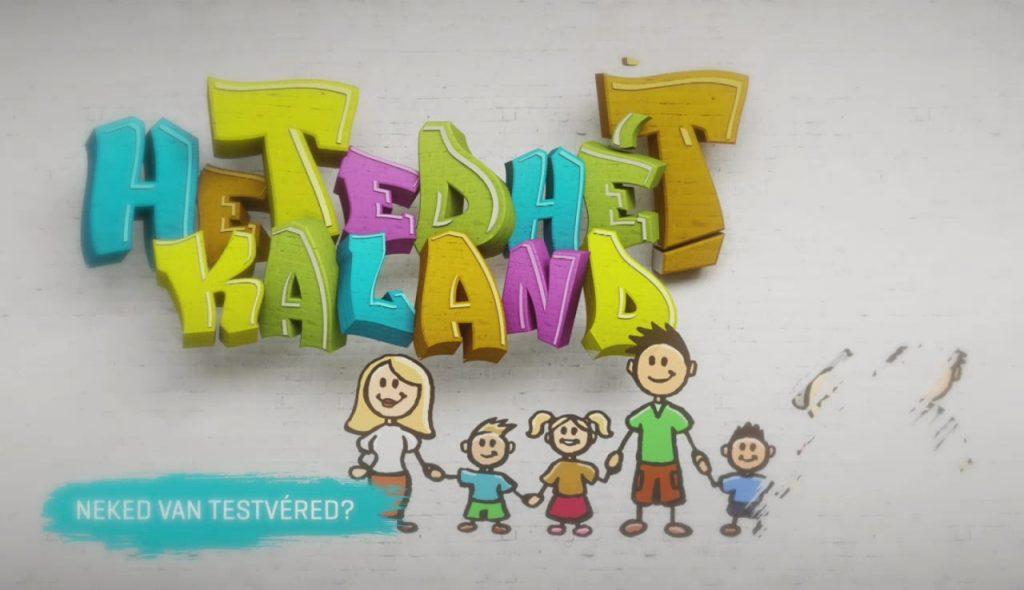 Neked van Testvéred? címmel hirdet pályázatot az M2 Gyerekcsatorna