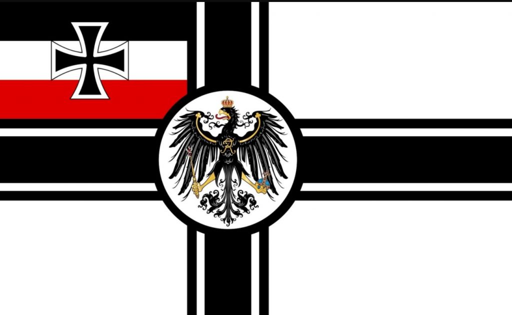 Betiltották a német birodalmi hadilobogó használatát
