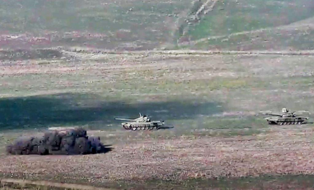 Az örmény-azeri összecsapások beszüntetésére szólítanak fel a világ vezetői