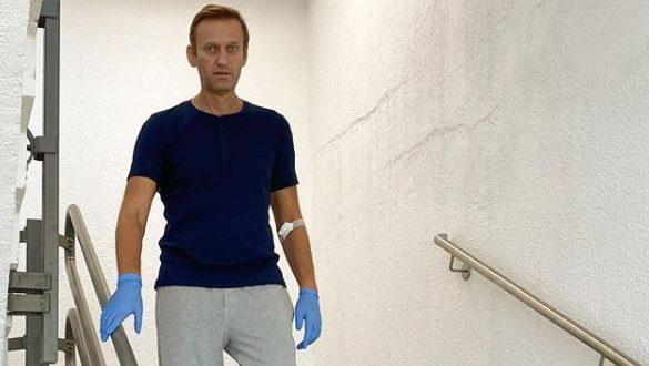 Már járni is tud Navalnij