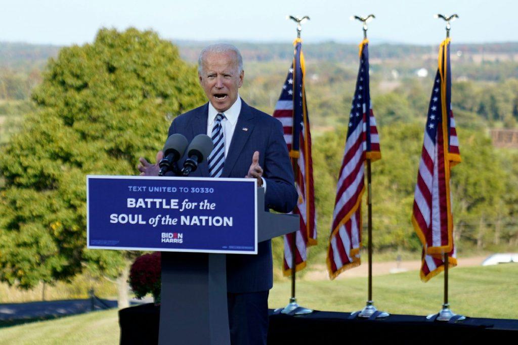 Biden elsétált a kényes kérdés elől