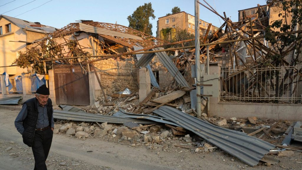 A tűzszünet ellenére támadás ért több azerbajdzsáni települést