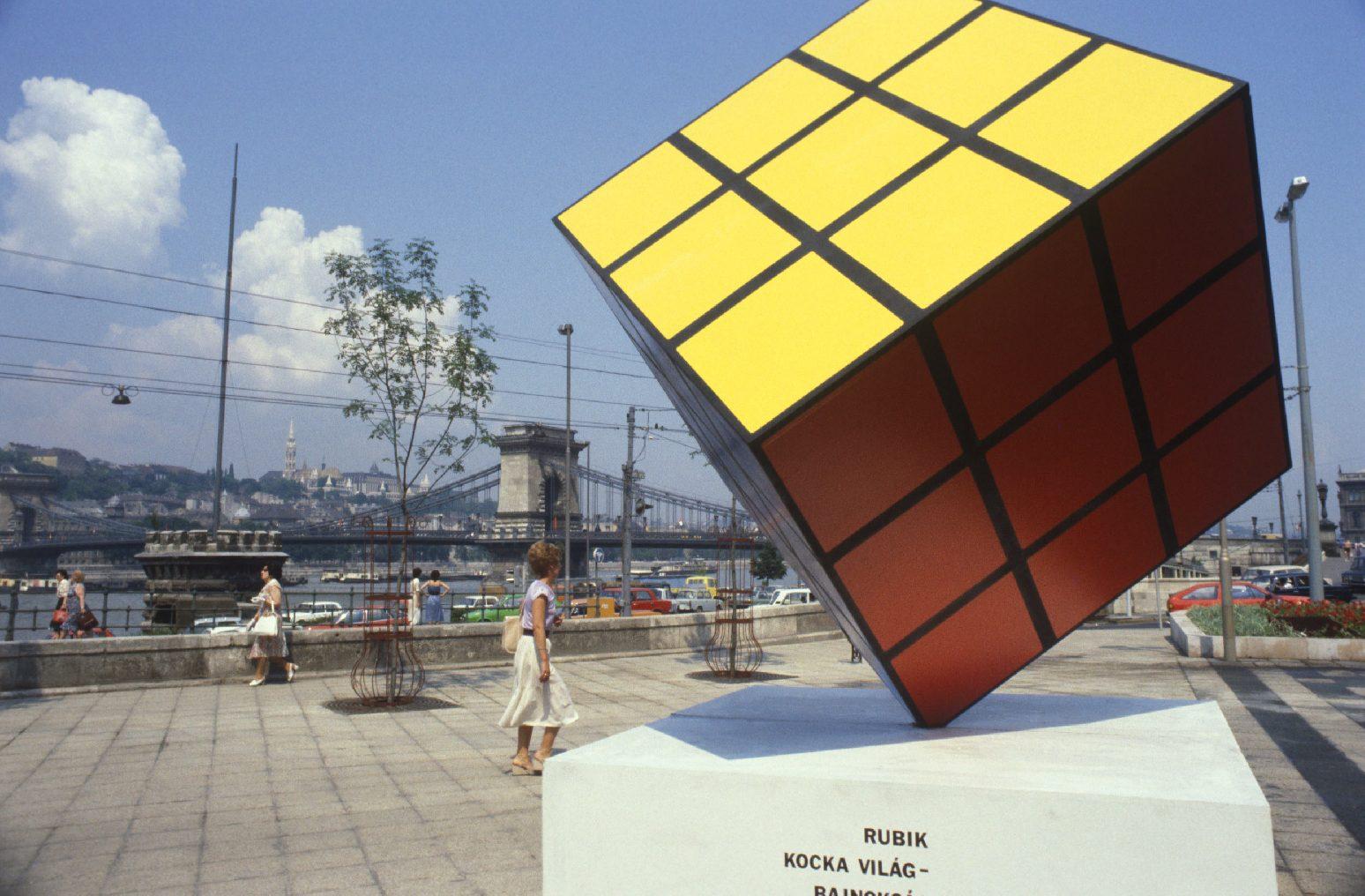 A Rubik-kocka Károly herceget is lenyűgözte, mikor először kézbe vette