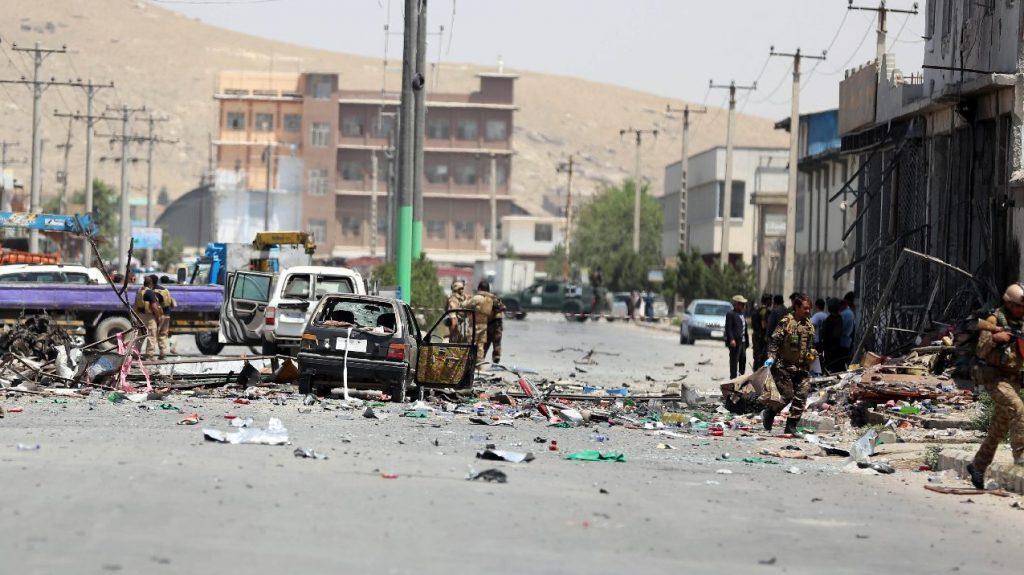 Robbantásos merénylet történt Kelet-Afganisztánban, legalább egy halott
