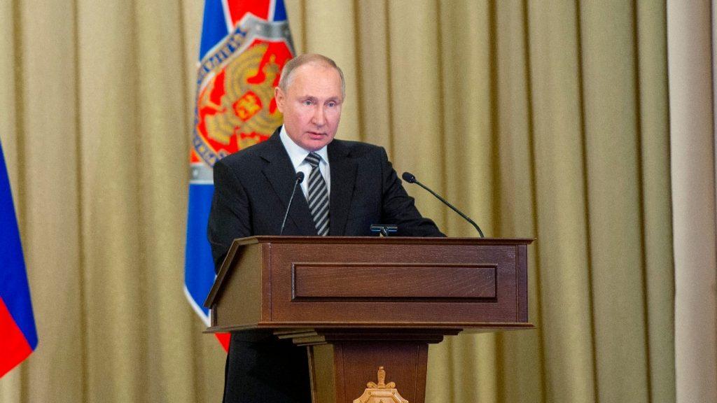 """Putyin szerint """"információs provokációk"""