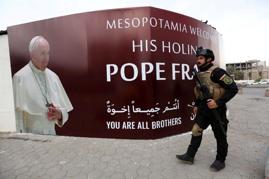 Síita vallási vezetőkkel találkozott Ferenc pápa