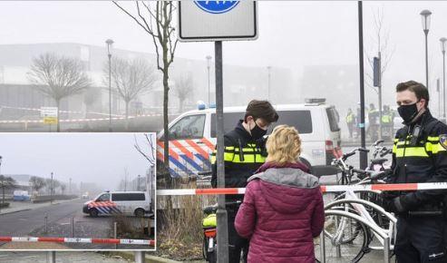 Pokolgépes támadás ért egy tesztközpontot Hollandiában