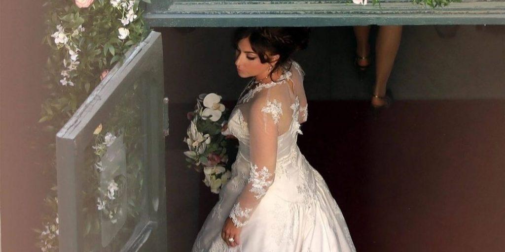 Lemaradtunk valamiről? Lady Gagát menyasszonyi ruhában látták