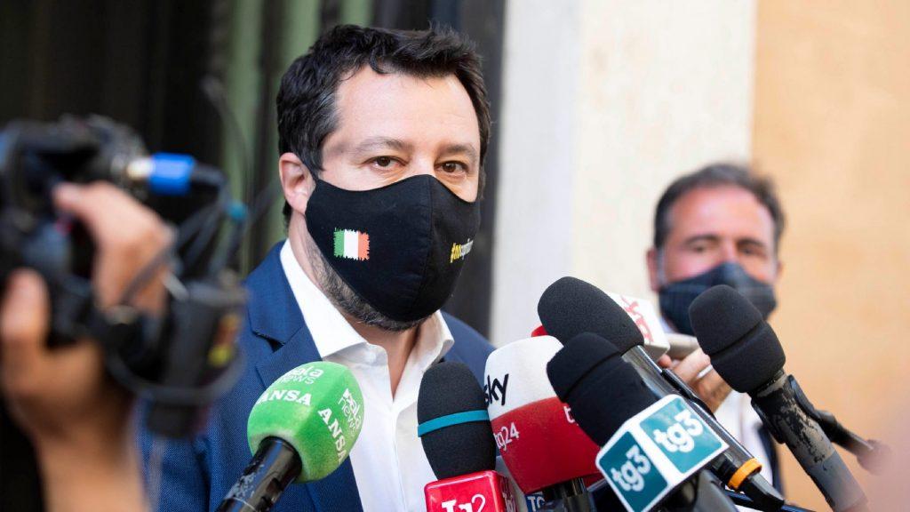 Megkezdődött Salvini pere