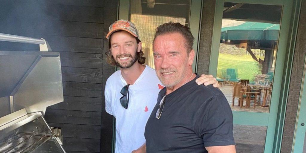 Vetélytársa akadt? Arnold Schwarzenegger fia látványosan kipattintotta magát