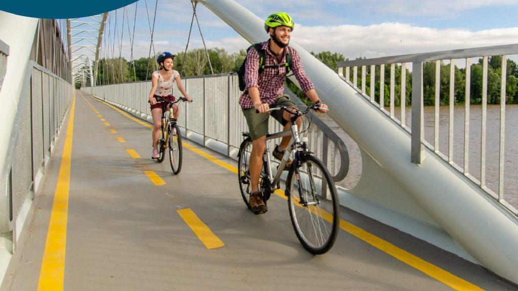 A Poroszló és Tiszafüred közötti bringaút lett az év kerékpárútja