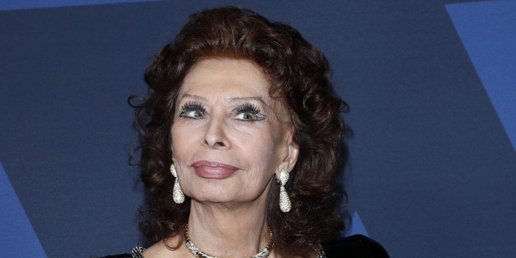 Sophia Loren meg sem tudott szólalni a meghatottságtól - ő kapta az olasz Oscart