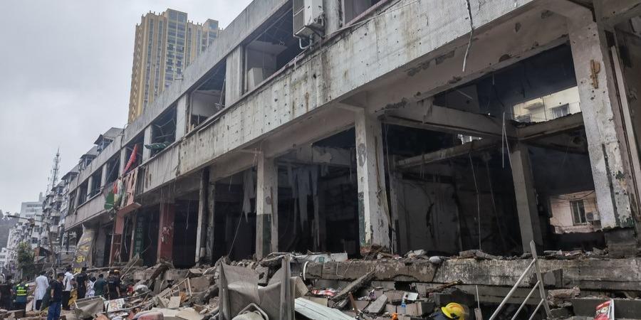 Ennyivel nőtt a kínai gázrobbanás áldozatainak száma