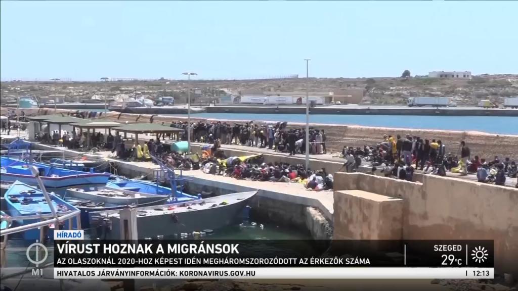 Egyre nagyobb a krízis Olaszországban, de a migránsok beözönlése egész Európára veszélyt jelent