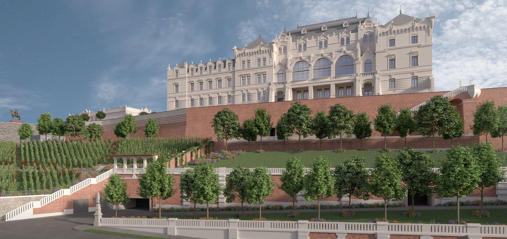 """Poraiból """"születik újjá"""" József főherceg palotája a Budai várban"""