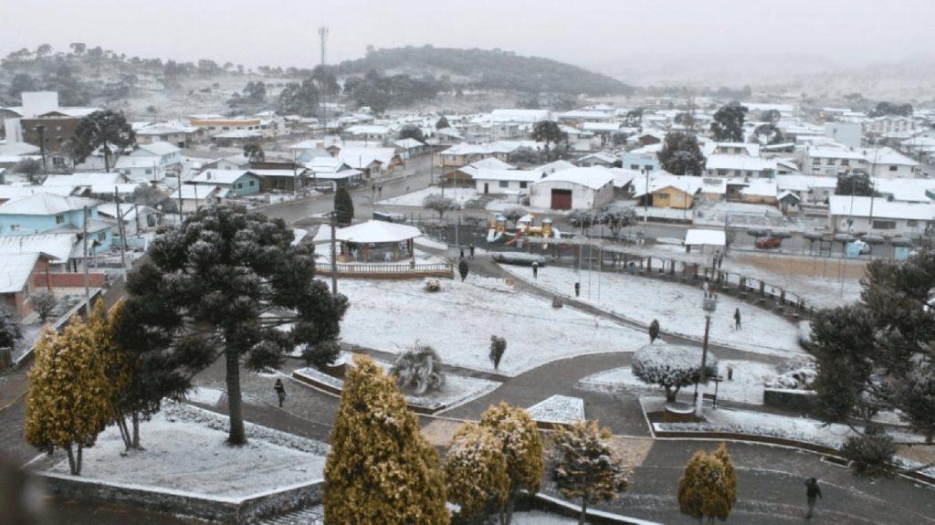 Van, ahol már tél van - sűrűn havazik Brazíliában