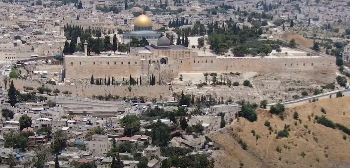 A babiloni fogság előtti Jeruzsálem falának egyik részletére bukkantak