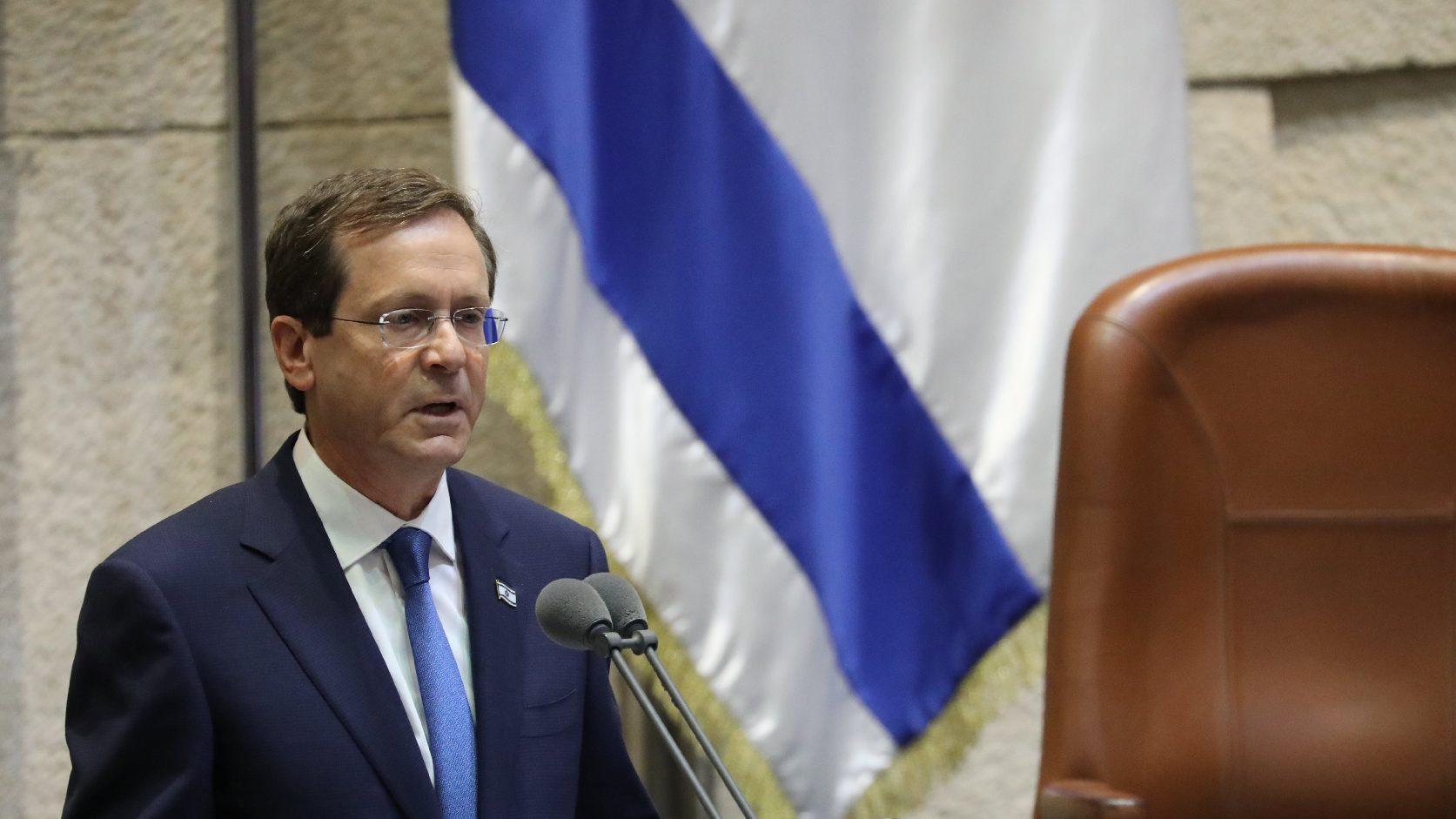 A békefolyamatról egyeztetett a jordániai király és az izraeli elnök