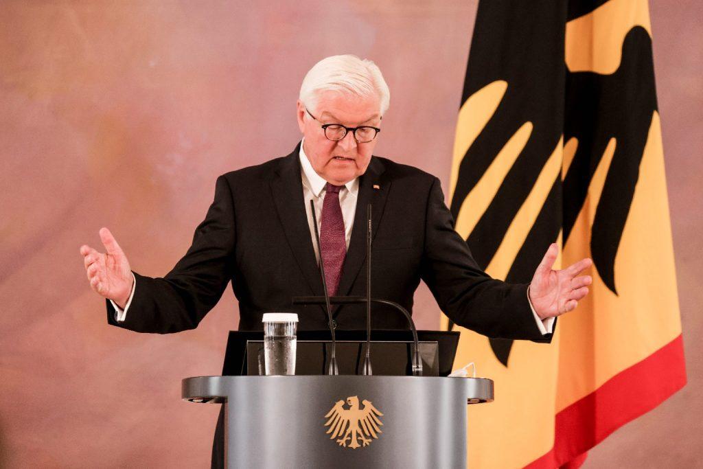 Német államfő: Nem az emberek bevándorló hátterűek, hanem maga Németország egy bevándorló hátterű ország