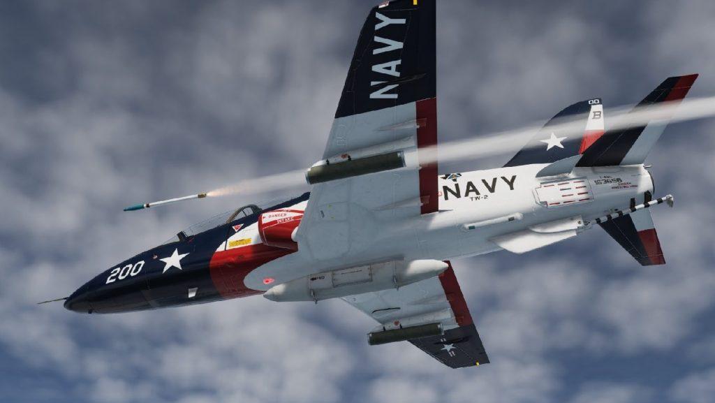 Lakóterületen zuhant le az amerikai haditengerészet egyik kiképzőgépe