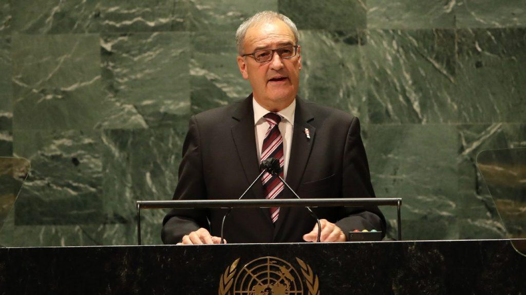 Az ENSZ Biztonsági Tanácsának tagja akar lenni Svájc