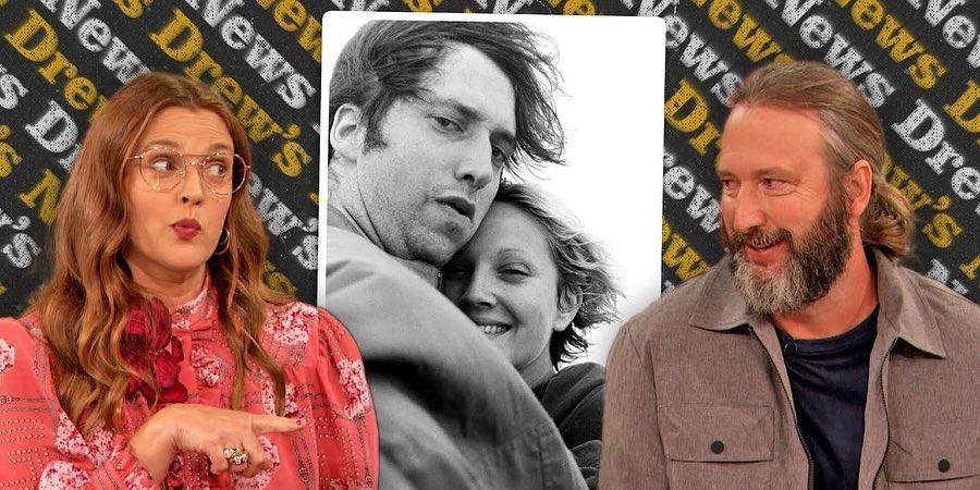 Húsz év után, a kamerák előtt találkozott exférjével Drew Barrymore